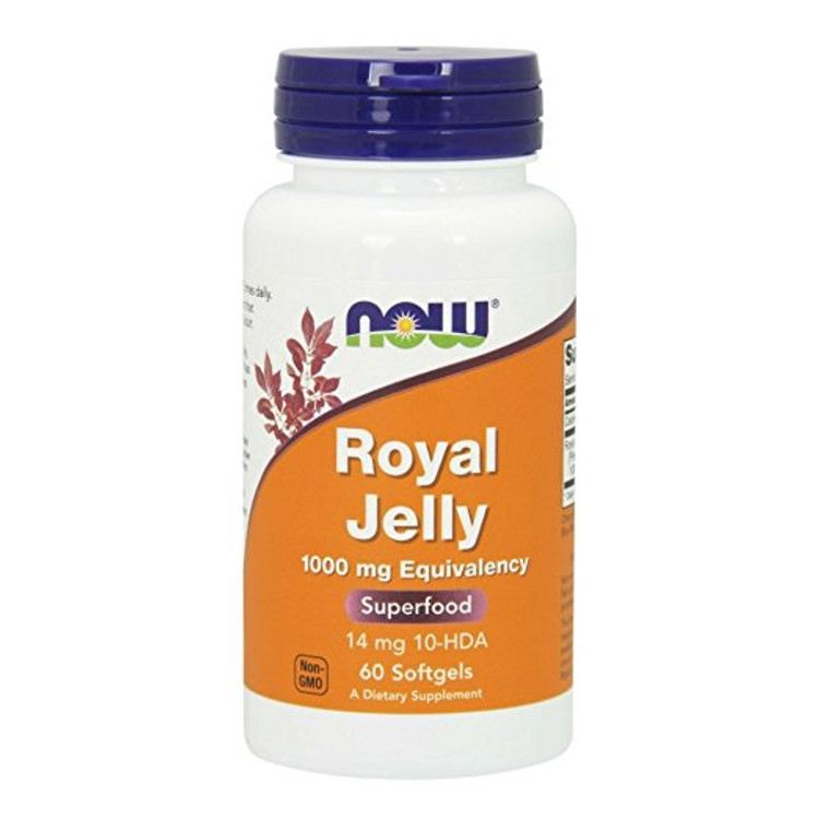 Royal Jelly 1000 mg 60 Softgels - NOW Foods