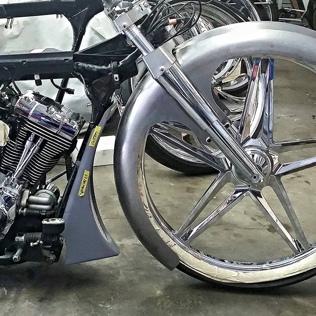 """American Suspension weld in slip fit Neck and Trees, to fit 2014 and up 26"""" Wheel"""