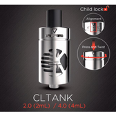 Kanger CLtank Sub Ohm Tank With Child Lock 4ML (MSRP $25.00)