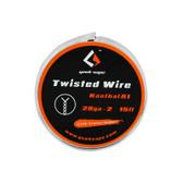 Twisted Wire Kanthal KA1 (28GA * 2) Spool By Geek Vape 15ft (MSRP $5.00)