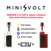 Council Of Vapor Mini Volt V2 Full Kit 40W (MSRP $55.00)