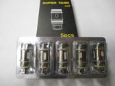 Tobeco Super Tank Coils 5Pk (MSRP 15.00)