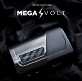 Mega Volt 80W TC Box Mod by Council of Vapor - Silver (MSRP $55.00)