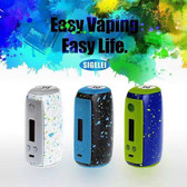 SIGELEI Swallowtail 75A Splash Paint TC Box Mod (MSRP $55.00)