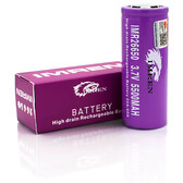 IMREN 26650 -  3.7V 5500mAh - High Drain Rechargeable 22A/60A Battery - 1pc (MSRP $15.00)