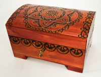 Floral Pattern Chest