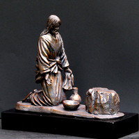 "Timothy Schmalz ""He Comes To Serve"" Sculpture"