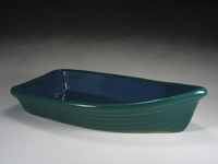 Green & Blue Baker Bowl