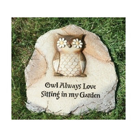 Owl Garden Stepping Stone