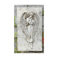 Angel Relief Wall Plaque