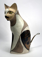 Cat Ceramic Tealight Piece