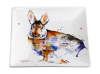 Dean Crouser Cottontail Snack Plate