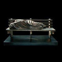 "Timothy Schmalz ""Homeless Jesus"""