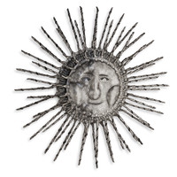 Follow the Sun 3-D Hand Crafted Metal Wall Art