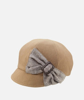 Women's Cap with Side Bow