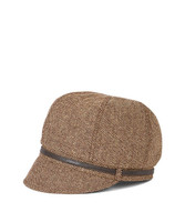 Women's Belted Newsboy Cap