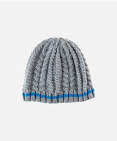 Kid's Cable Knit Beanie - 4-7 Years