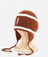 Kid's Crochet Hat - Football