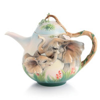 Franz Family Fun Elephant  Teapot