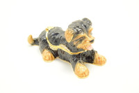 Cutie Yorkie Jewelry Box with Necklace