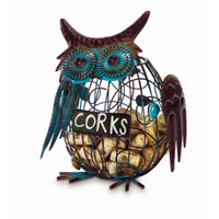 Wine Cork Caddy Owl
