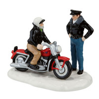 A New 56 Harley-Davidson KH Motorcycle Village Piece