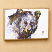 "Dean Crouser's ""Determined"" Black Bear Wall Art"