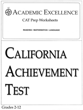 Paper california achievement test cat prep pack grades 2 through 12 pdf download fandeluxe Images