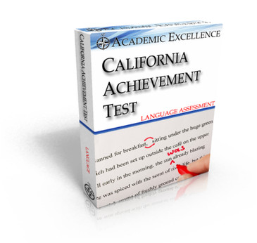 ONLINE California Achievement Test: Language Only, TIMED