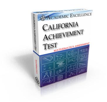 ONLINE California Achievement Test: Mathematics Only, TIMED