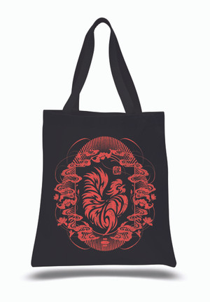 """""""Year of the Rooster 2017""""Canvas Tote Bag"""