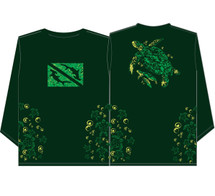 Lawai'a UV+ Honu (Long Sleeve), Green