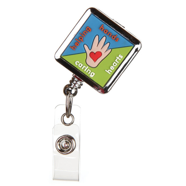 Helping Hands Fashion Badge Reel