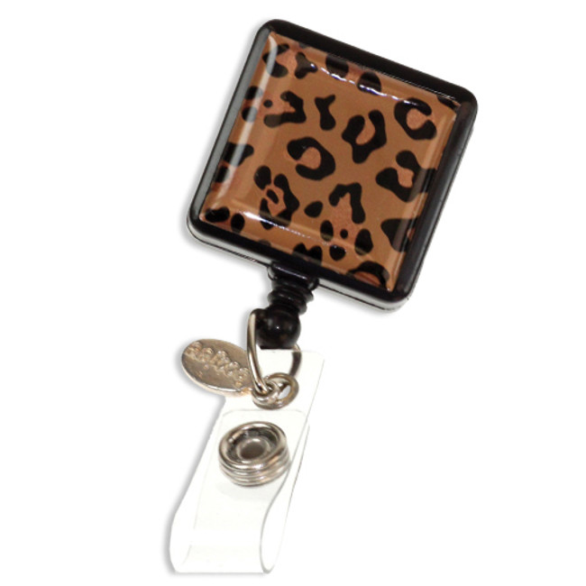 Leopard Fashion Badge Reel