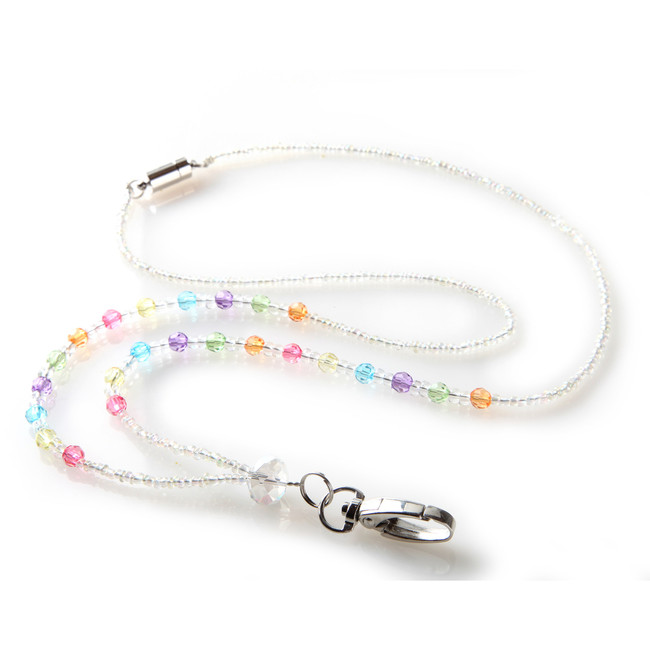 Lollipop Beaded Lanyard