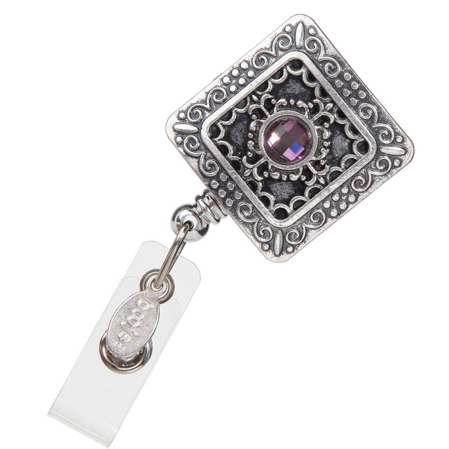Vintage Square Badge Reel