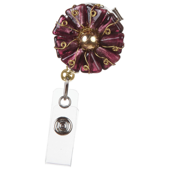 Wrap Flower Badge Reel
