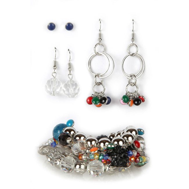 Festive Brights Bracelet & Earring Set