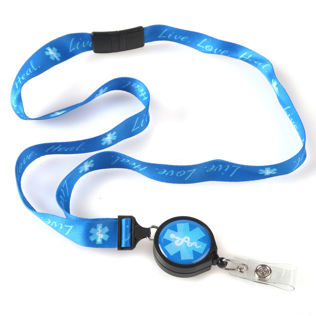 Live, Love, Heal Ribbon Lanyard