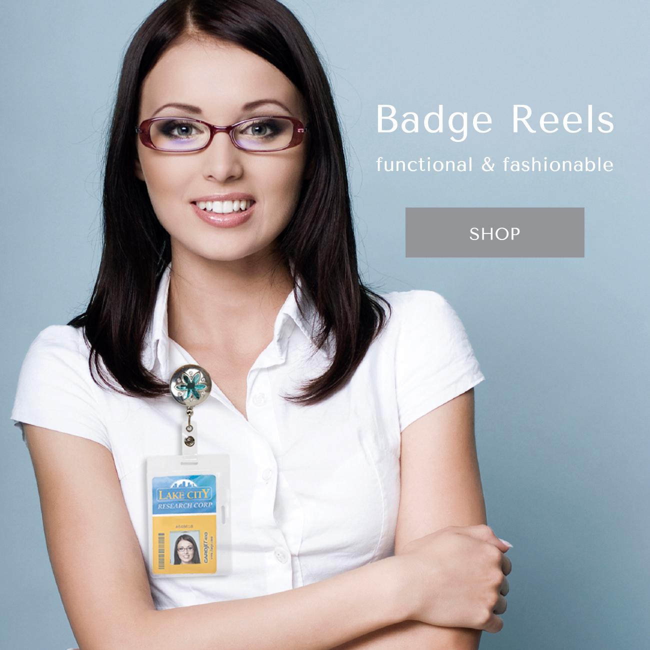 Badge Reels: functional & fashionable