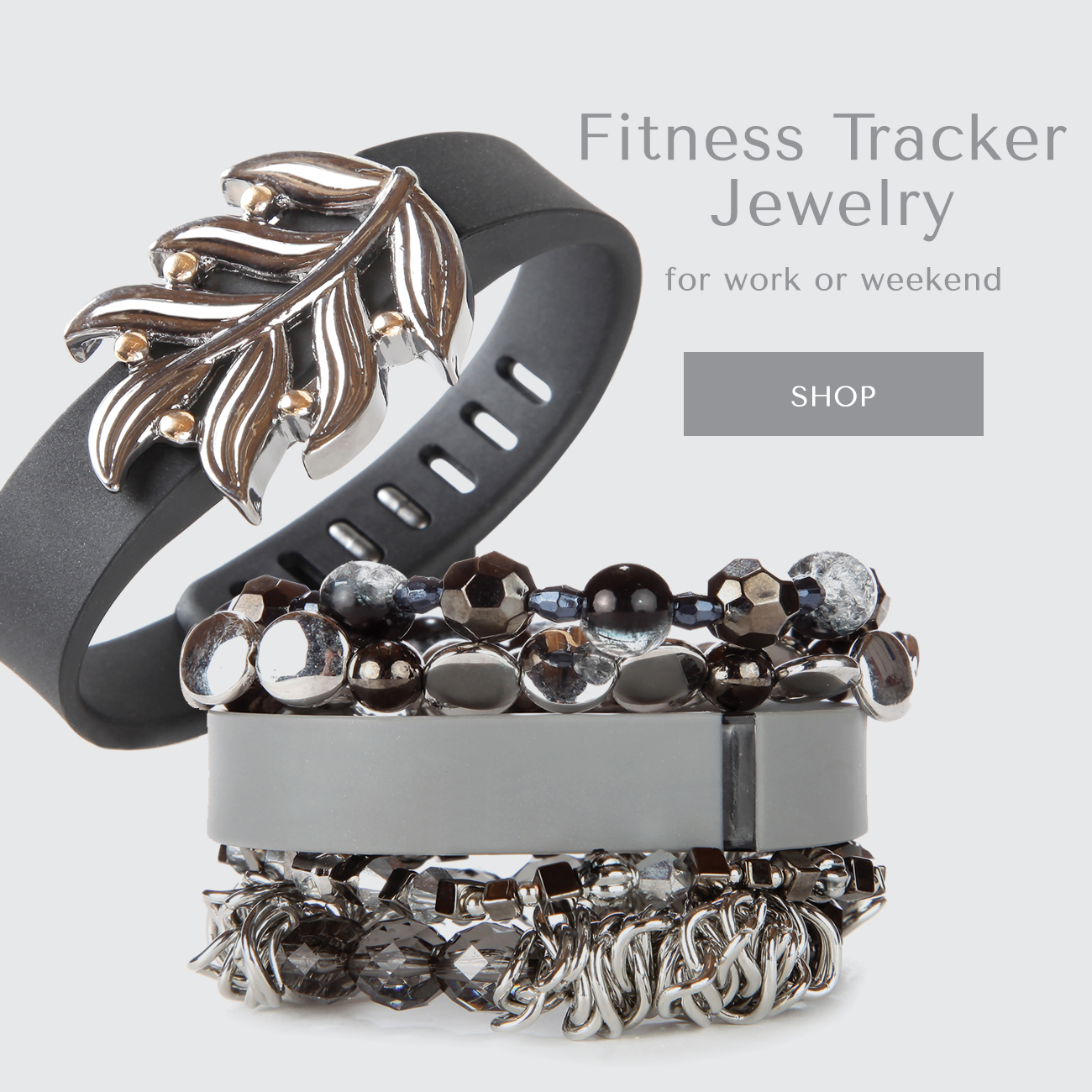 Fitness Tracker Jewelry for work or weekend