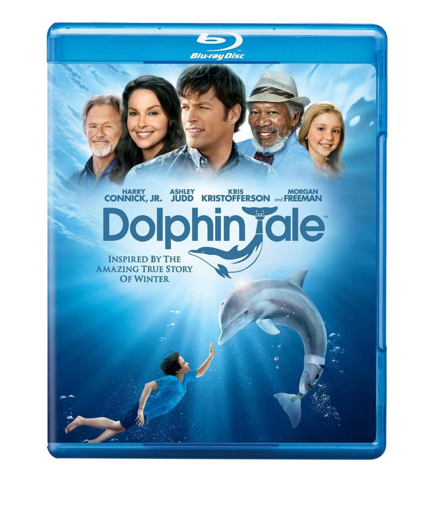 """Have you checked out the internationally recognized film Dolphin Tale? Regardless, now is your chance to own the """"The best family film to come along in a decade"""", according to Dallas Morning News. This movie has universally inspired the human spirit through a remarkable story of an Atlantic bottle nose dolphin named, Winter—who never gave up and fought for her life against all odds. Play this movie to keep your family and friends entertained and motivated!"""