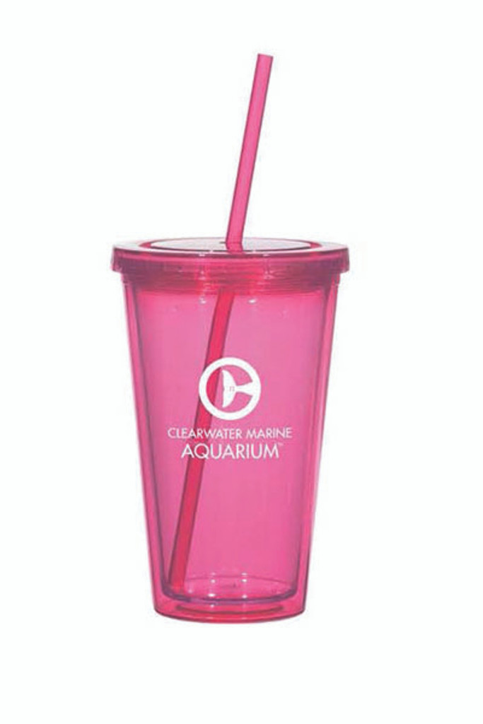 Pink Clearwater Marine Aquarium Collectible Tumblers