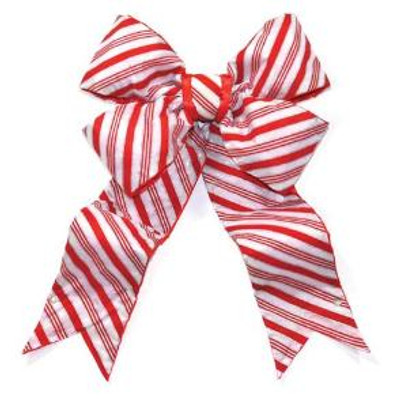 Giant Bows - Candy Cane Striped Bow