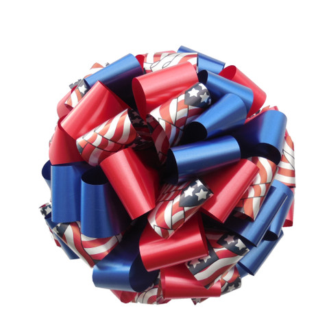 Memorial Day - Support Our Troop Ribbons and Bows