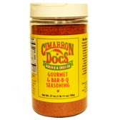 Cimarron Doc's Gourmet & bar-b-q seasoning, 27 oz