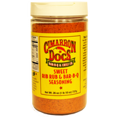 Cimarron Doc's Sweet Rib Rub & Bar-B-Q Seasoning, 26 oz