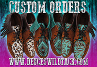 SIZE 6 Made to Order Moccasins