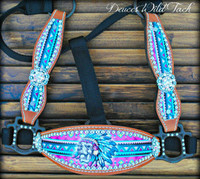 Native Skull Cheek Halter