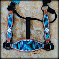 Feather Cheek Halter